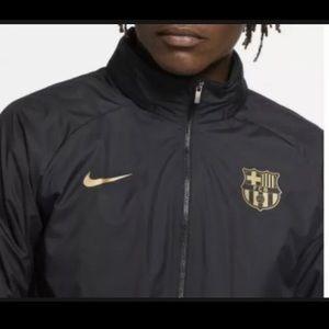 Nike FC Barcelona Windbreaker Soccer Jacket Black